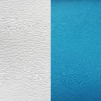 Blanc : Turquoise