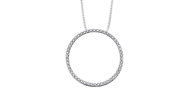 Pendentif Diamant PP1847W_15C