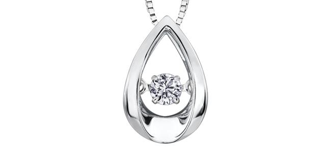 Pendentif Diamant PP3107WG