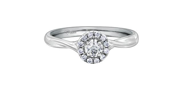 Bague Diamant R30170WG