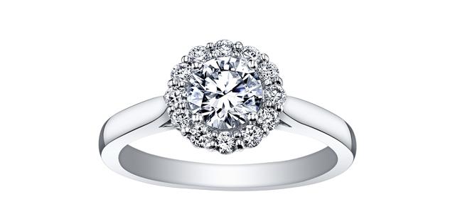 Bague Diamant R3741WG