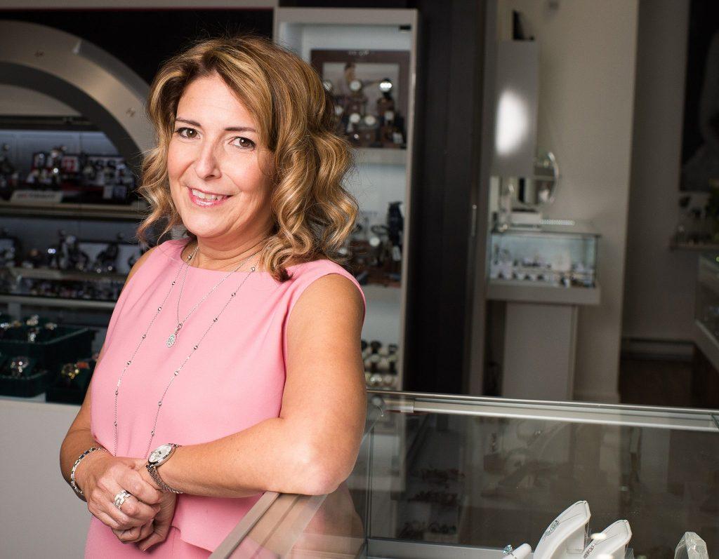 Nathalie Serres - propriétaire Bijouterie Guy Serres