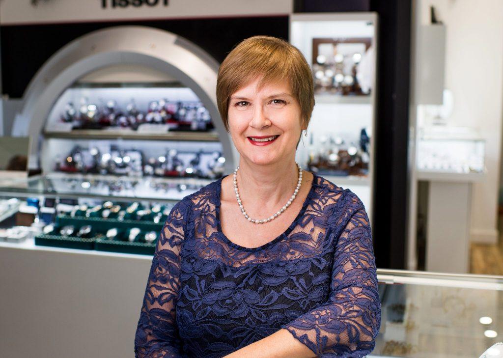 Sylvie Careau - employée de la Bijouterie Guy Serres