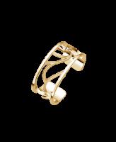 bracelet floral jaune 25mm