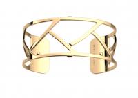 tresse jaune 25mm georgette bracelet