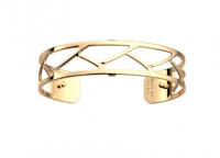 bracelet tresse 14mm jaune