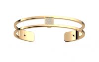 Barrette jaune 8mm bracelet les georgettes