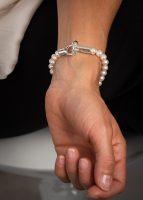 Fermoir ShikShok sur bracelet de perles, par MichaudMichaud