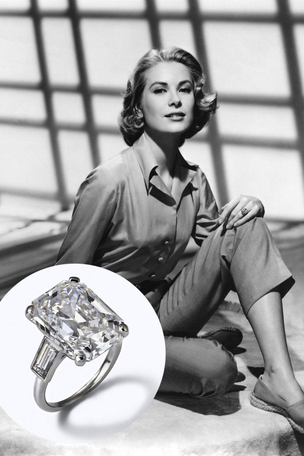 Grace Kelly et le Prince Rainier III de Monaco